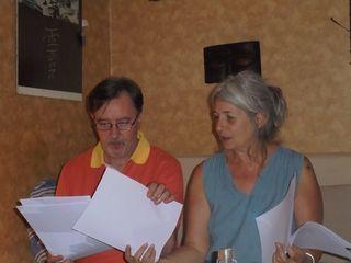 Séance de travail avec Thierry Roquet