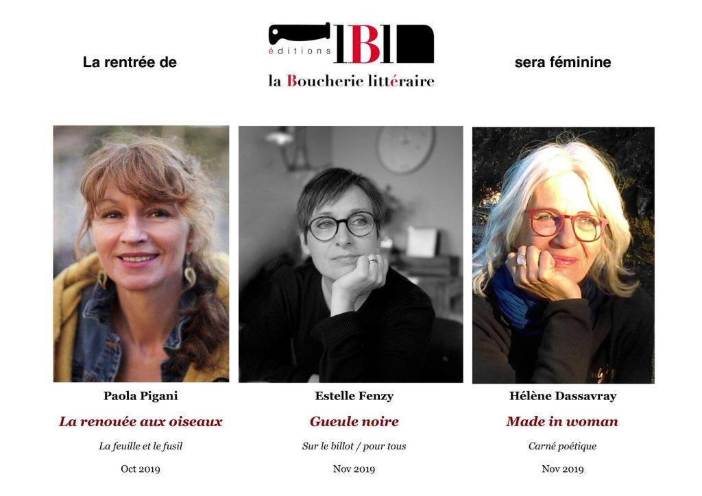 Hélène Dassavray Madeleine in Woman Éditions la boucherie littéraire